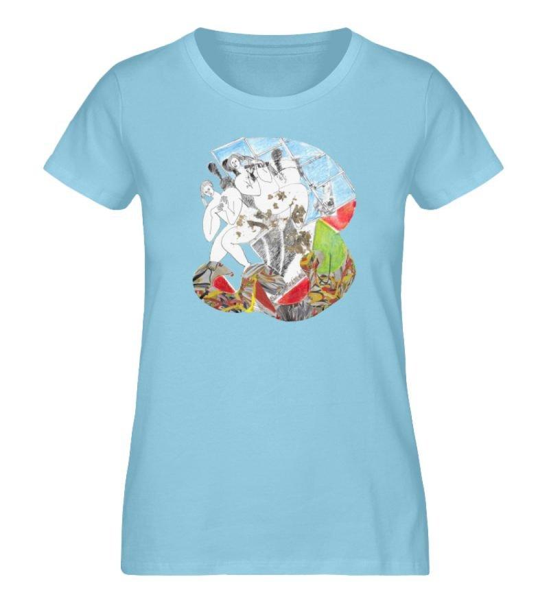 """""""Körperpflege"""" von Silke Hoffmann - Damen Premium Organic Shirt-674"""