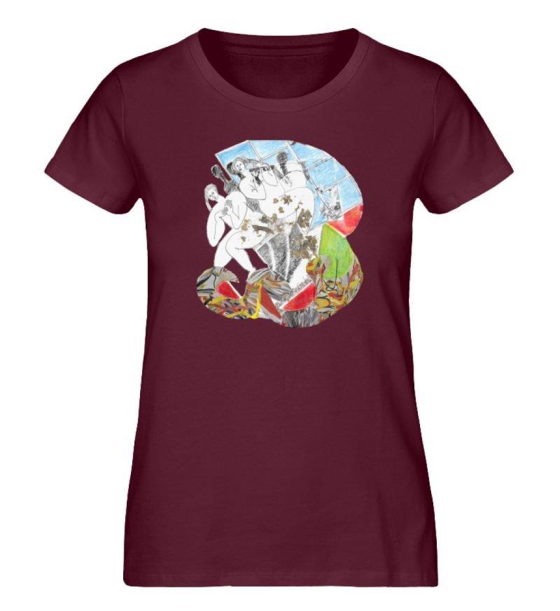 """""""Körperpflege"""" von Silke Hoffmann - Damen Premium Organic Shirt-839"""