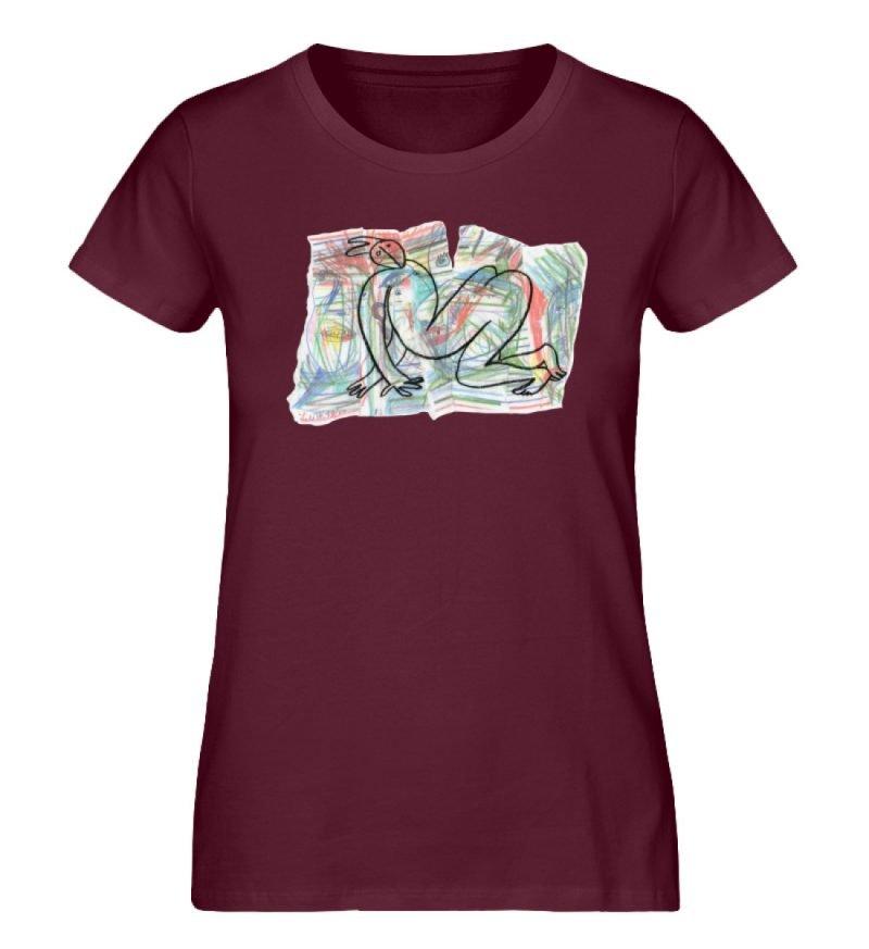"""""""Der gewendete Mann"""" von Lilith Lichtenb - Damen Premium Organic Shirt-839"""
