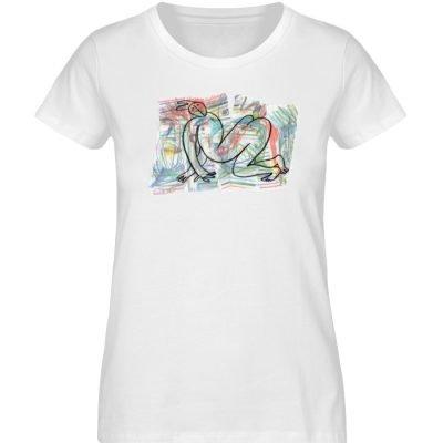 """""""Der gewendete Mann"""" von Lilith Lichtenb - Damen Premium Organic Shirt-3"""