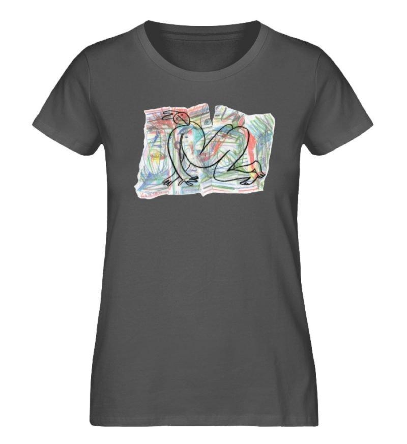 """""""Der gewendete Mann"""" von Lilith Lichtenb - Damen Premium Organic Shirt-6903"""