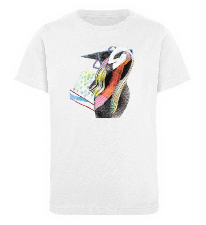 """Rapunzel"" von Silke Hoffmann - Kinder Organic T-Shirt-3"