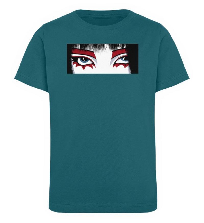 """""""Staring"""" von Third Eye Collective - Kinder Organic T-Shirt-6878"""