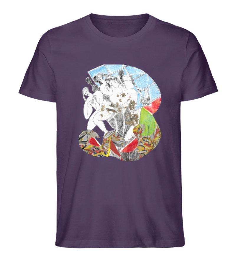 """""""Körperpflege"""" von Silke Hoffmann - Herren Premium Organic Shirt-6876"""
