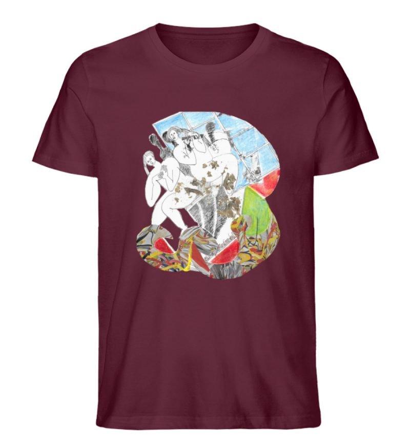 """""""Körperpflege"""" von Silke Hoffmann - Herren Premium Organic Shirt-839"""