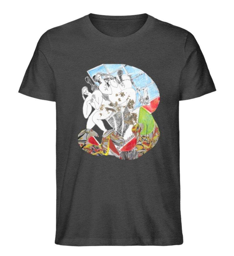 """""""Körperpflege"""" von Silke Hoffmann - Herren Premium Organic Shirt-6881"""