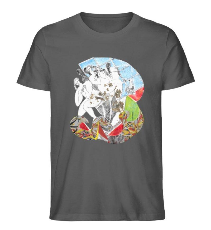 """""""Körperpflege"""" von Silke Hoffmann - Herren Premium Organic Shirt-6903"""