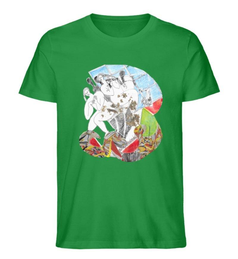 """""""Körperpflege"""" von Silke Hoffmann - Herren Premium Organic Shirt-6879"""