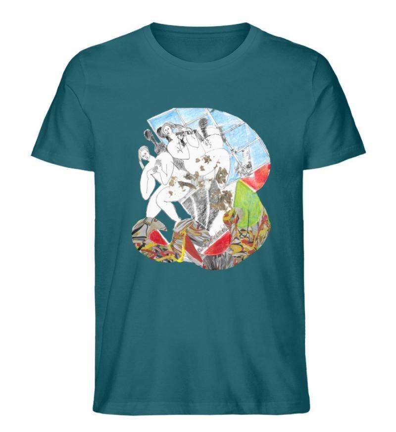 """""""Körperpflege"""" von Silke Hoffmann - Herren Premium Organic Shirt-6878"""