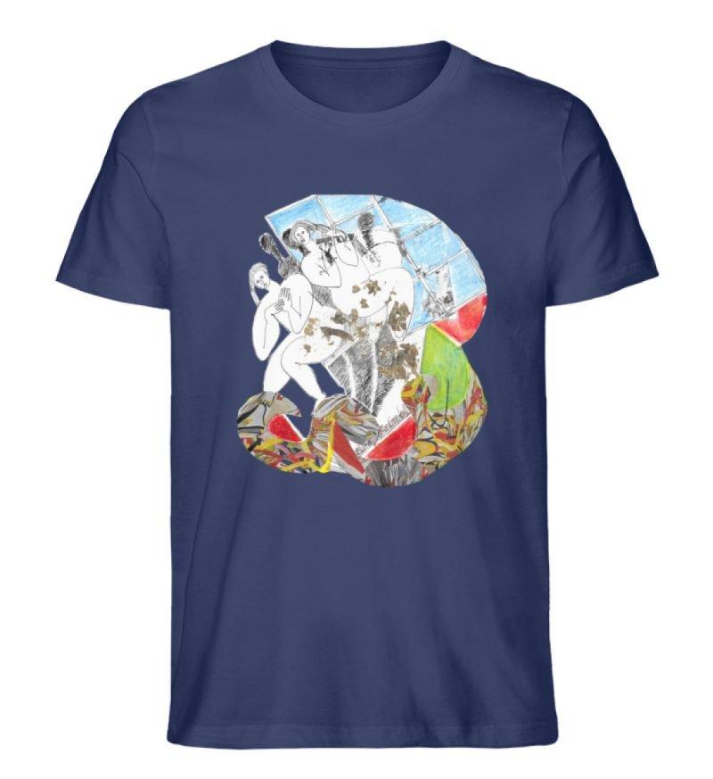 """""""Körperpflege"""" von Silke Hoffmann - Herren Premium Organic Shirt-6057"""