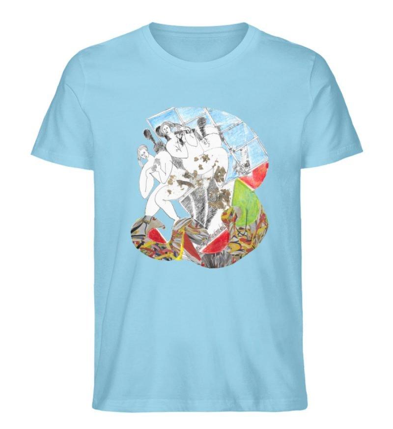 """""""Körperpflege"""" von Silke Hoffmann - Herren Premium Organic Shirt-674"""