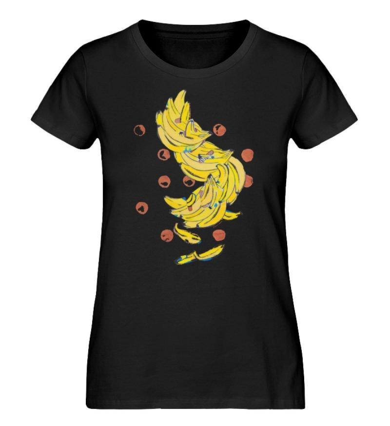 """""""Bananas"""" von Alrun Prünster Soares - Damen Premium Organic Shirt-16"""