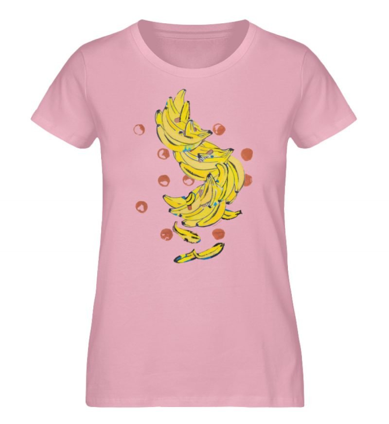 """""""Bananas"""" von Alrun Prünster Soares - Damen Premium Organic Shirt-6883"""