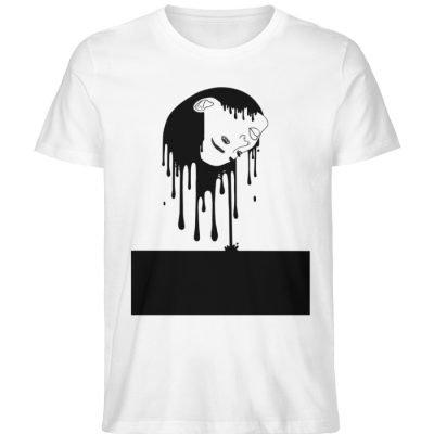 """""""Melting"""" von Third Eye Collective - Herren Premium Organic Shirt-3"""