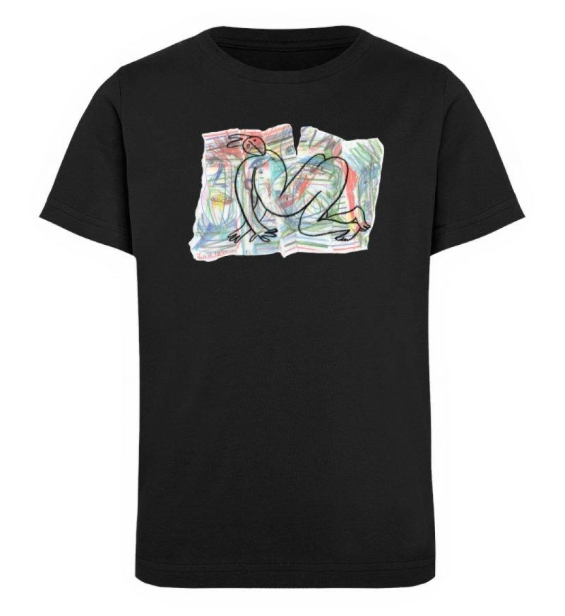 """""""Der gewendete Mann"""" von Lilith Lichtenb - Kinder Organic T-Shirt-16"""