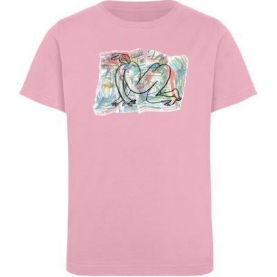 """""""Der gewendete Mann"""" von Lilith Lichtenb - Kinder Organic T-Shirt-6883"""