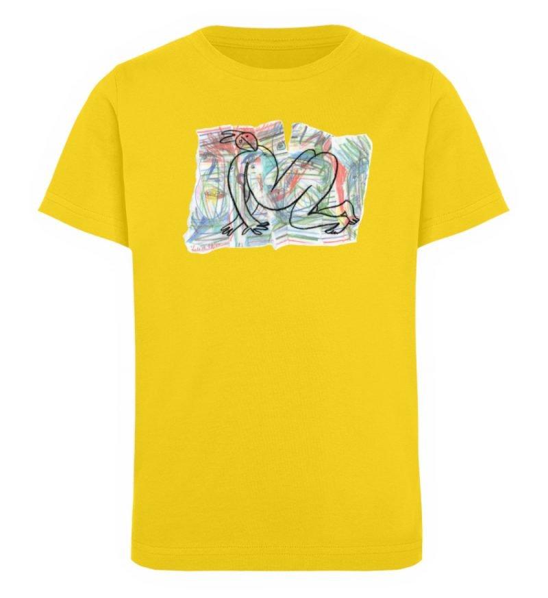 """""""Der gewendete Mann"""" von Lilith Lichtenb - Kinder Organic T-Shirt-6885"""