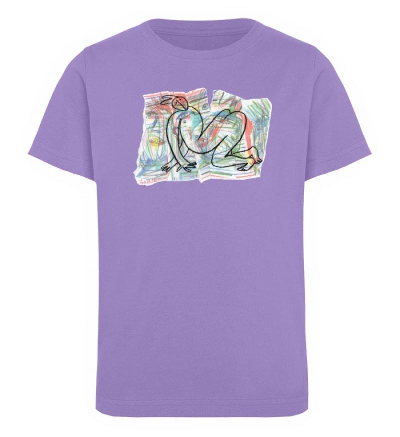 """""""Der gewendete Mann"""" von Lilith Lichtenb - Kinder Organic T-Shirt-6884"""
