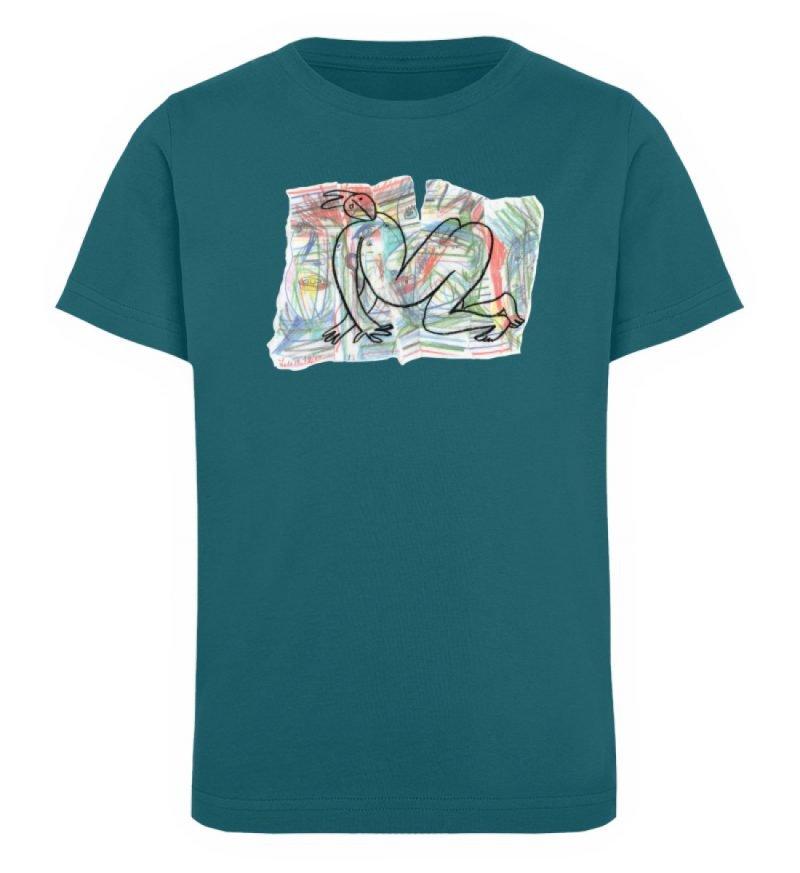 """""""Der gewendete Mann"""" von Lilith Lichtenb - Kinder Organic T-Shirt-6878"""