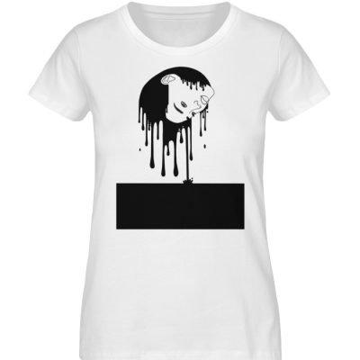 """""""Melting"""" von Third Eye Collective - Damen Premium Organic Shirt-3"""