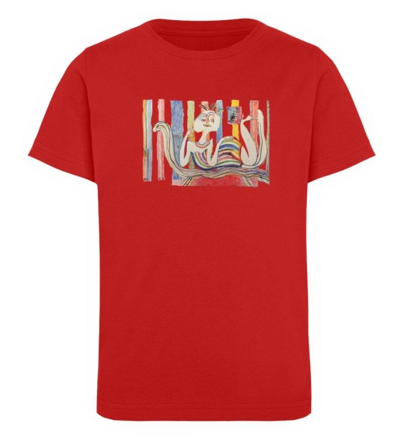 """""""Gemäßigter Müßiggang"""" von Lilith Lichte - Kinder Organic T-Shirt-4"""
