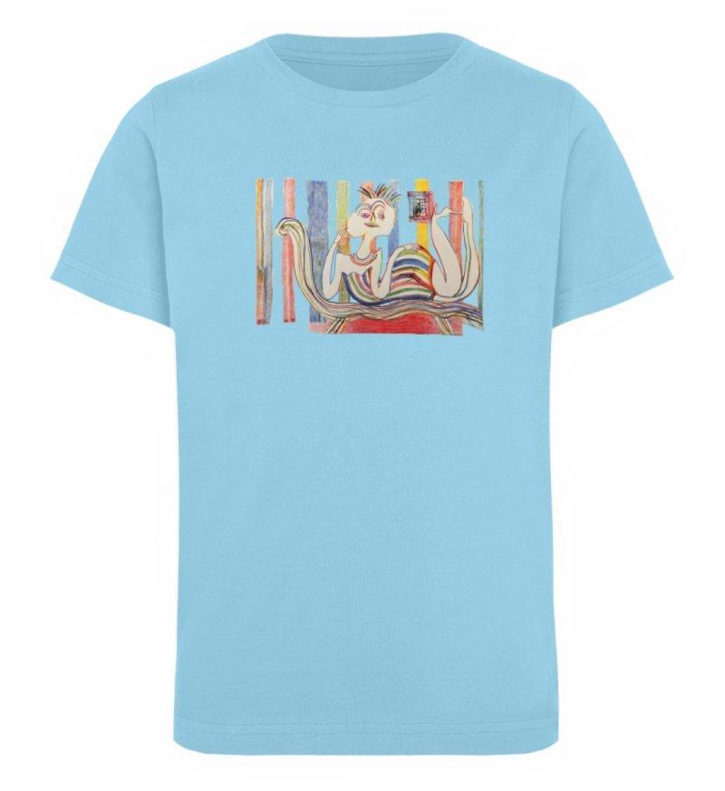 """""""Gemäßigter Müßiggang"""" von Lilith Lichte - Kinder Organic T-Shirt-674"""