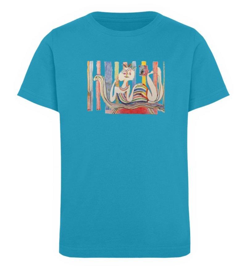 """""""Gemäßigter Müßiggang"""" von Lilith Lichte - Kinder Organic T-Shirt-6877"""