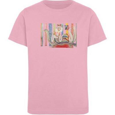 """""""Gemäßigter Müßiggang"""" von Lilith Lichte - Kinder Organic T-Shirt-6883"""