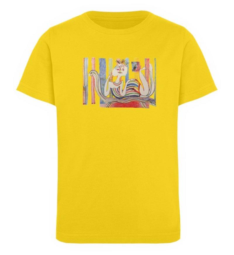 """""""Gemäßigter Müßiggang"""" von Lilith Lichte - Kinder Organic T-Shirt-6885"""