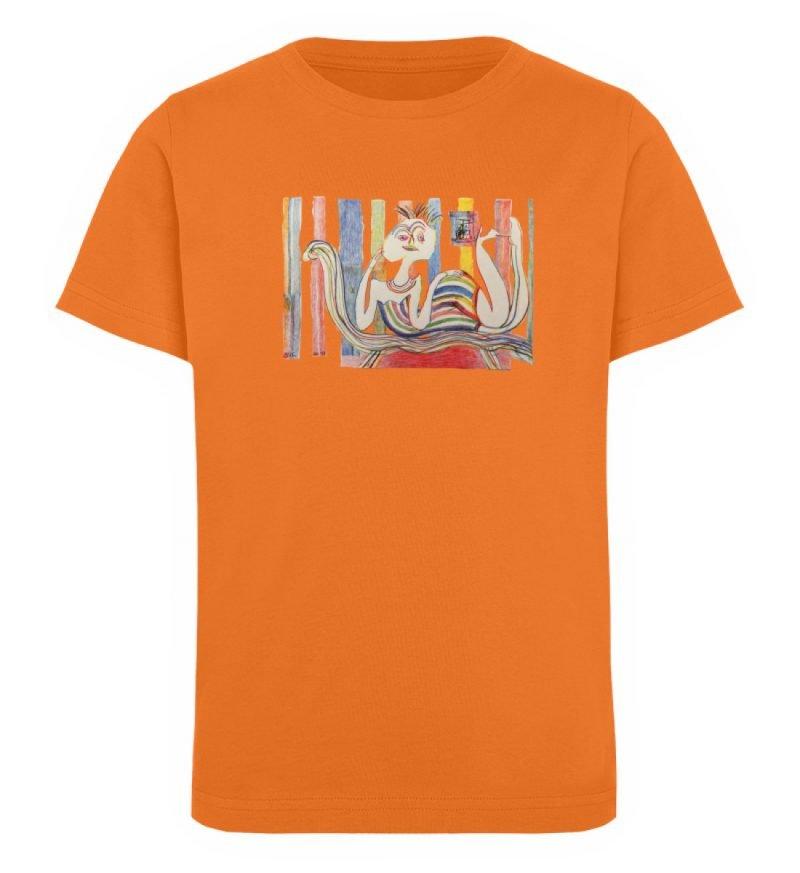 """""""Gemäßigter Müßiggang"""" von Lilith Lichte - Kinder Organic T-Shirt-6882"""