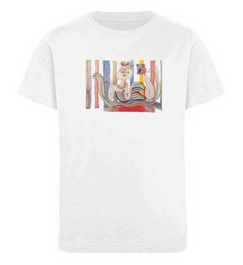 """""""Gemäßigter Müßiggang"""" von Lilith Lichte - Kinder Organic T-Shirt-3"""