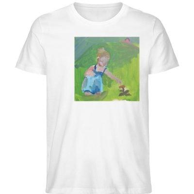 """Demut, Empathie und Behutsamkeit"""" von Sa - Herren Premium Organic Shirt-3"""