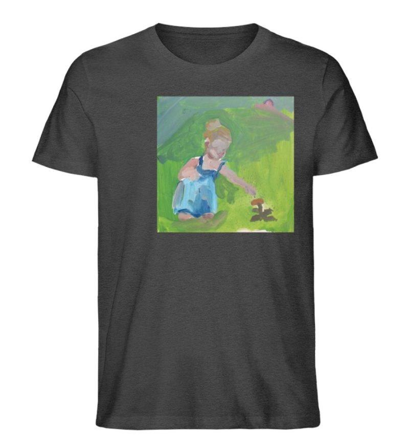 """Demut, Empathie und Behutsamkeit"""" von Sa - Herren Premium Organic Shirt-6881"""
