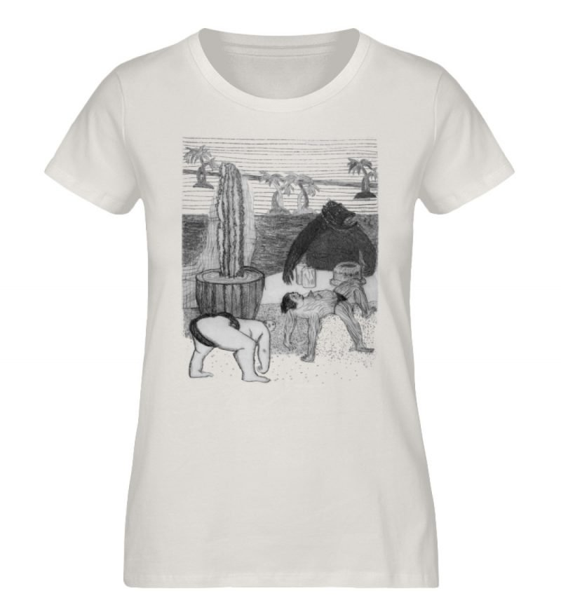 """Work Out"" von King Kong Kunstkabinett - Damen Premium Organic Shirt-6865"
