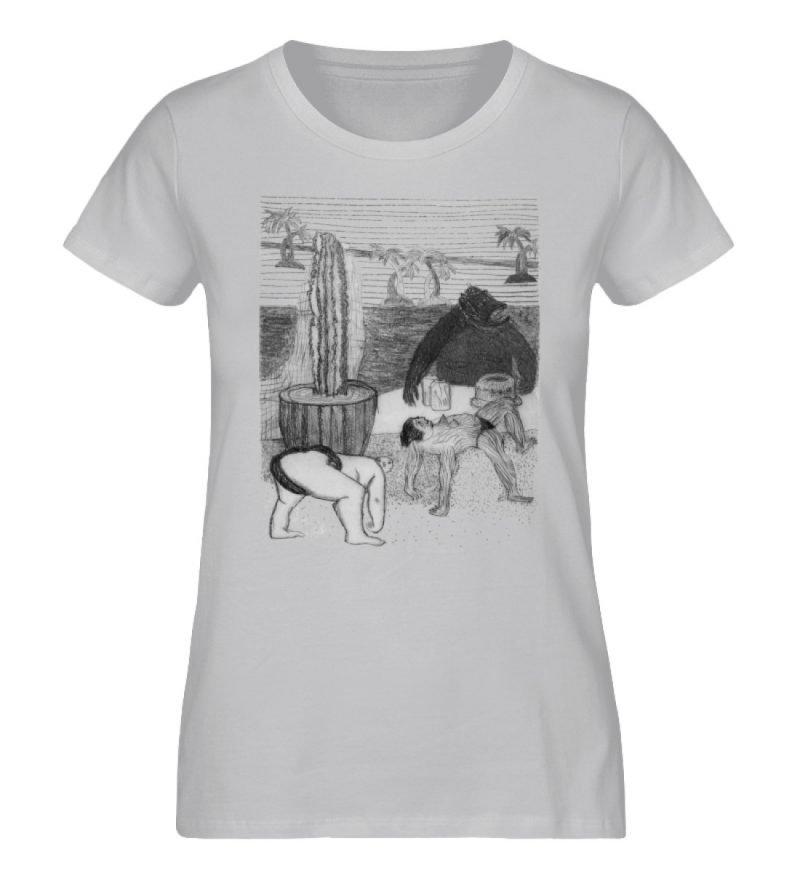 """Work Out"" von King Kong Kunstkabinett - Damen Premium Organic Shirt-17"