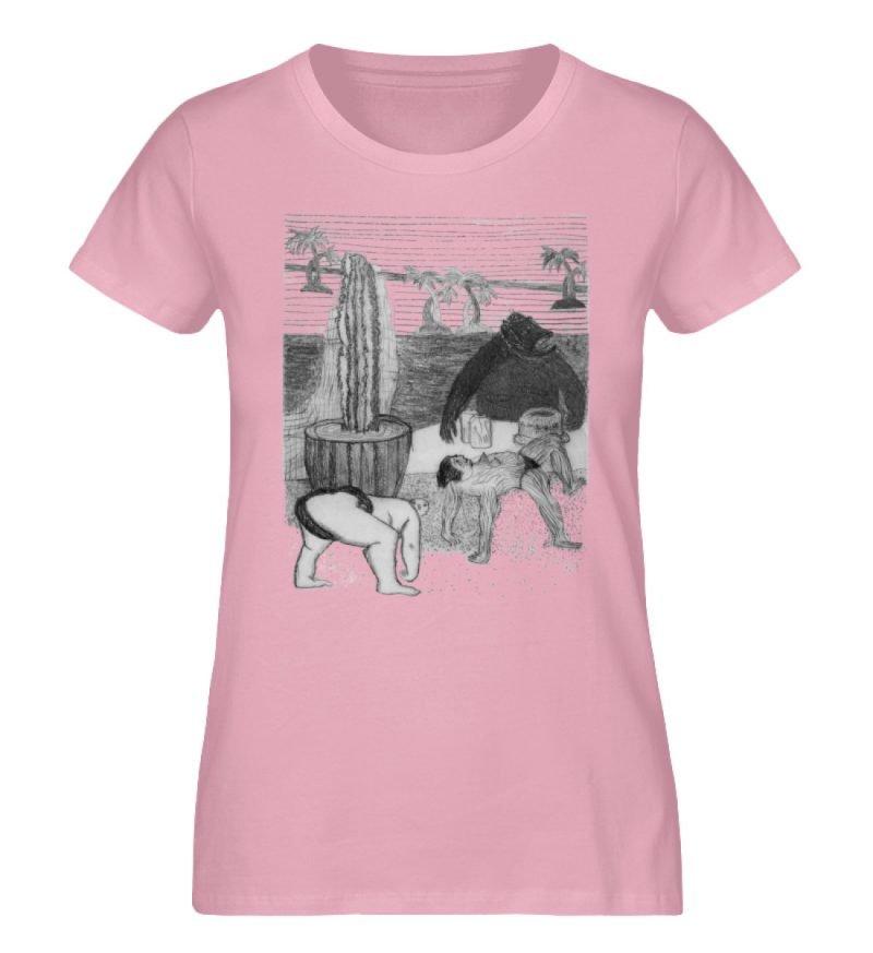"""Work Out"" von King Kong Kunstkabinett - Damen Premium Organic Shirt-6883"