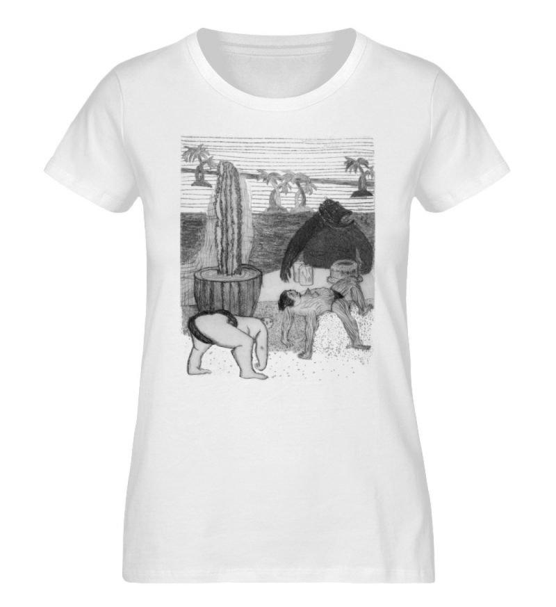 """Work Out"" von King Kong Kunstkabinett - Damen Premium Organic Shirt-3"