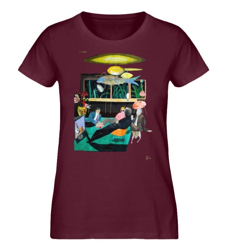 """Vita Hotel"" von King Kong Kunstkabinett - Damen Premium Organic Shirt-839"