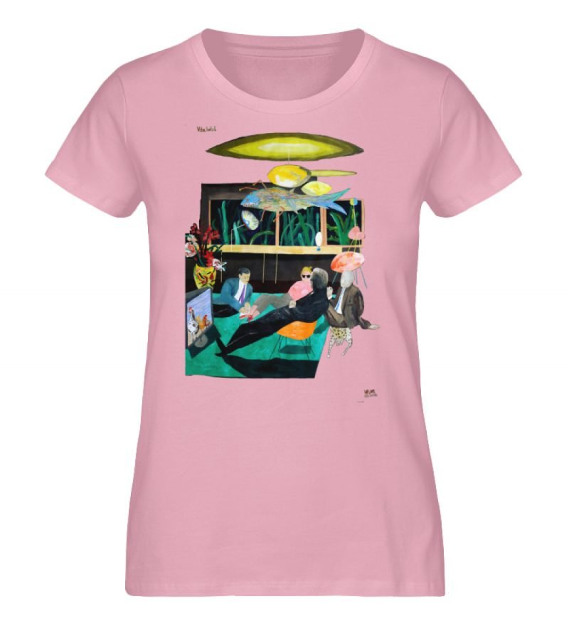 """Vita Hotel"" von King Kong Kunstkabinett - Damen Premium Organic Shirt-6883"