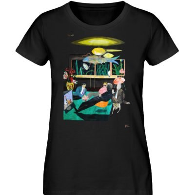 """Vita Hotel"" von King Kong Kunstkabinett - Damen Premium Organic Shirt-16"