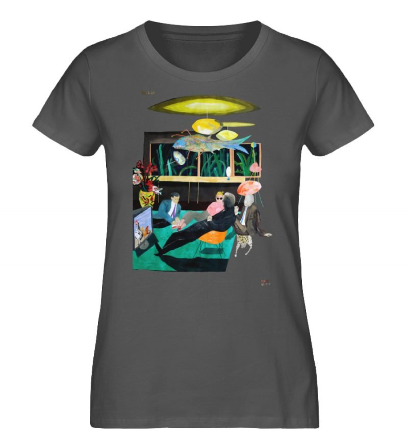 """Vita Hotel"" von King Kong Kunstkabinett - Damen Premium Organic Shirt-6903"
