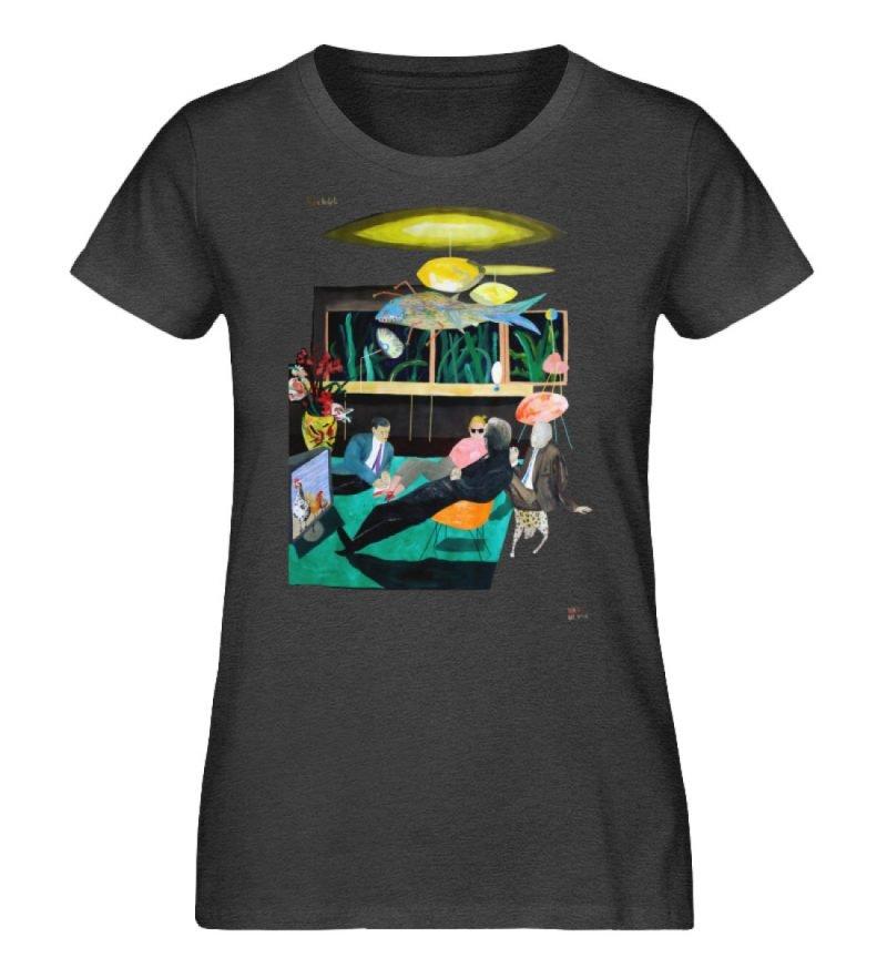 """Vita Hotel"" von King Kong Kunstkabinett - Damen Premium Organic Shirt-6881"