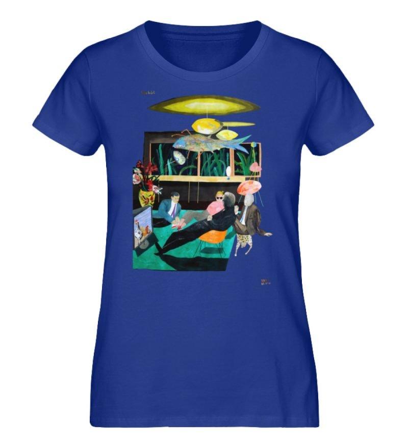 """Vita Hotel"" von King Kong Kunstkabinett - Damen Premium Organic Shirt-668"