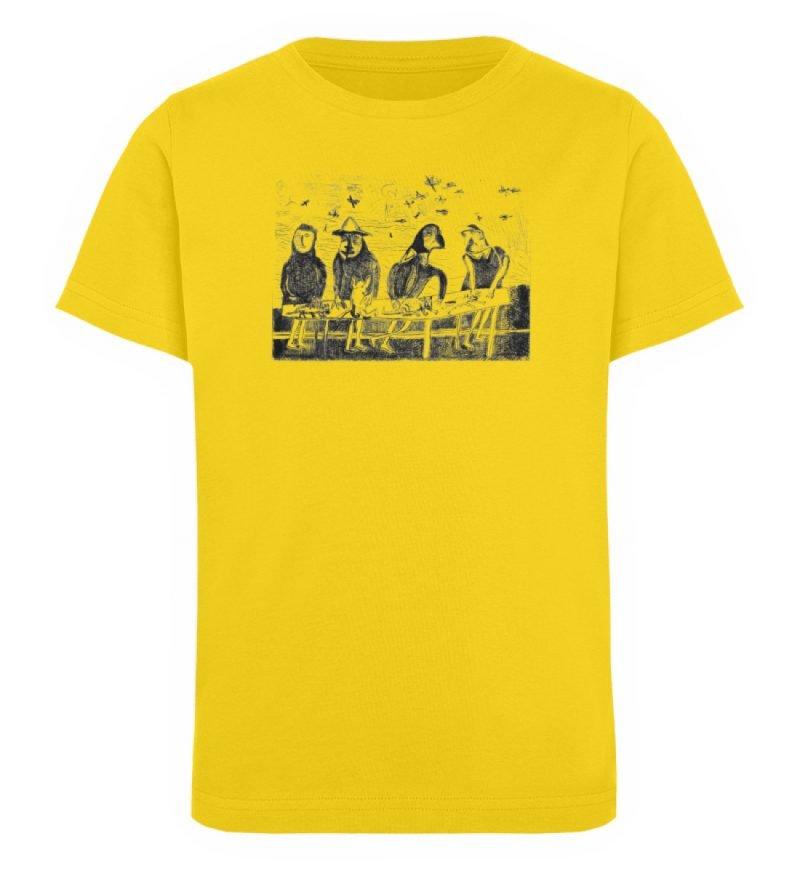"""""""Platz für Tiere"""" von King Kong Kunstkab - Kinder Organic T-Shirt-6885"""