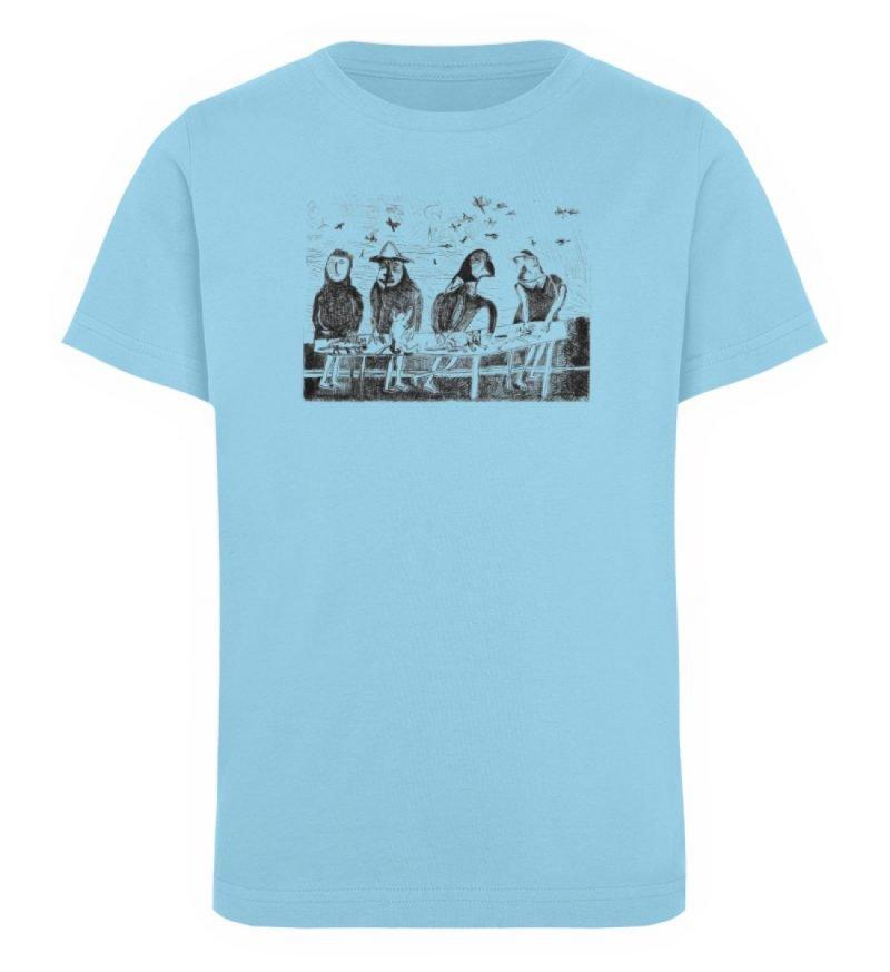 """""""Platz für Tiere"""" von King Kong Kunstkab - Kinder Organic T-Shirt-674"""
