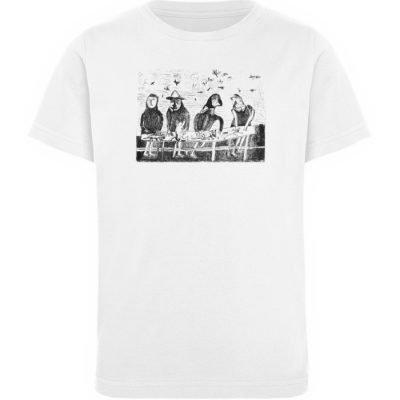 """""""Platz für Tiere"""" von King Kong Kunstkab - Kinder Organic T-Shirt-3"""