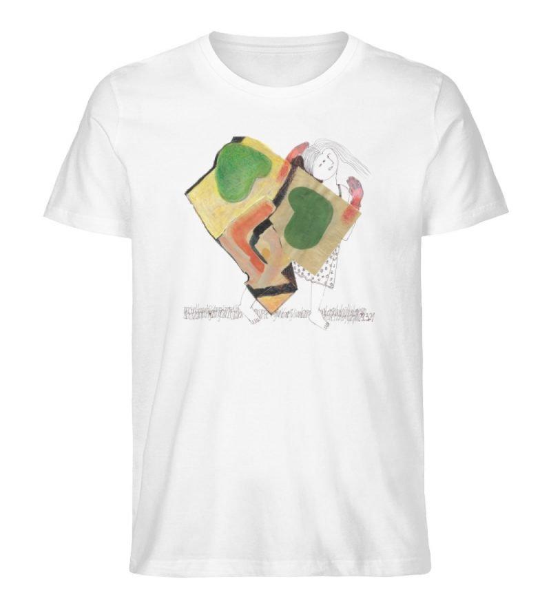 """""""o. T. """" von Silke Hoffmann - Herren Premium Organic Shirt-3"""