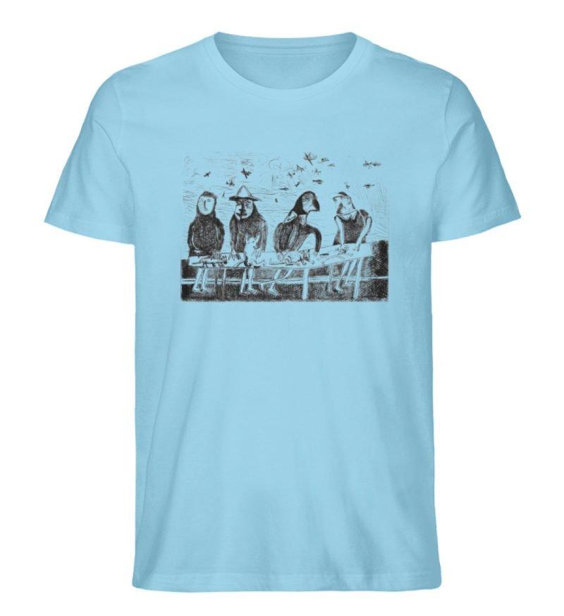 """""""Platz für Tiere"""" von King Kong Kunstkab - Herren Premium Organic Shirt-674"""