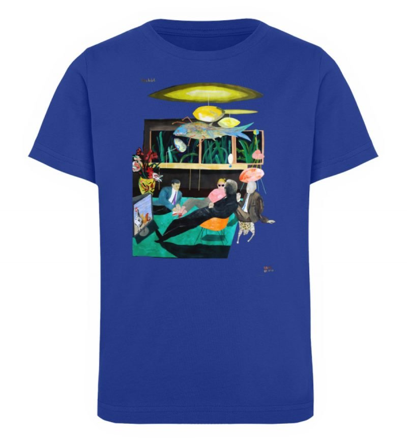 """Vita Hotel"" von King Kong Kunstkabinett - Kinder Organic T-Shirt-668"