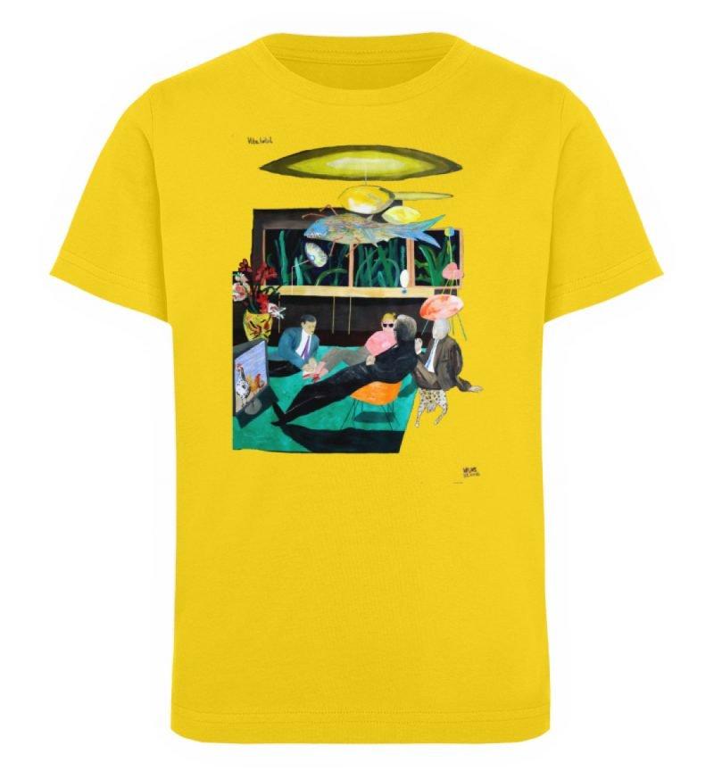 """Vita Hotel"" von King Kong Kunstkabinett - Kinder Organic T-Shirt-6885"